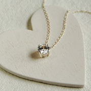 Diamante Drop Necklace
