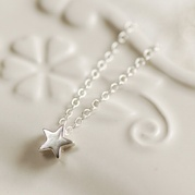 Star Drop Necklace