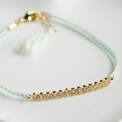 Mint Eternity Friendship Bracelet